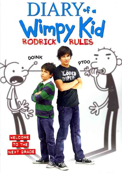 DIARY OF A WIMPY KID:RODRICK RULES BY GORDON,ZACHARY (DVD)